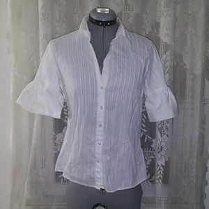 Cute white Old Navy blouse